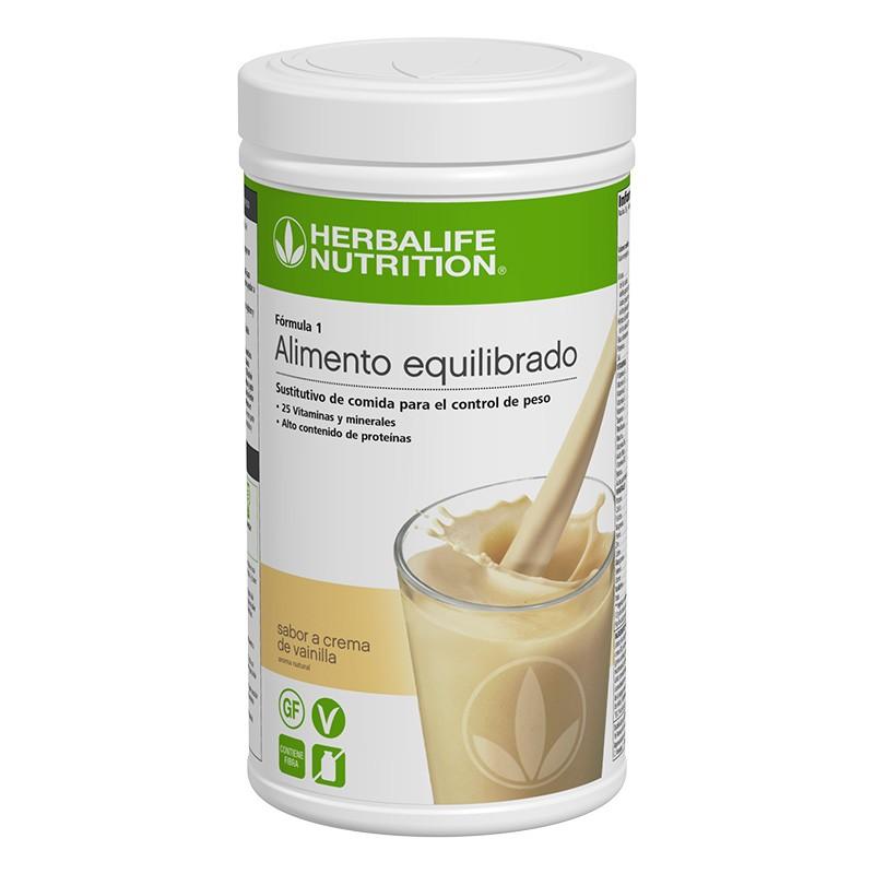 Batido Herbalife sabor crema de vainilla