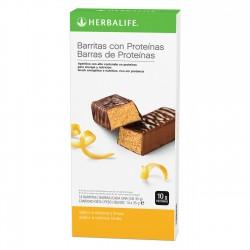 Barritas Herbalife con Proteínas Sabor Cítricos y Limón