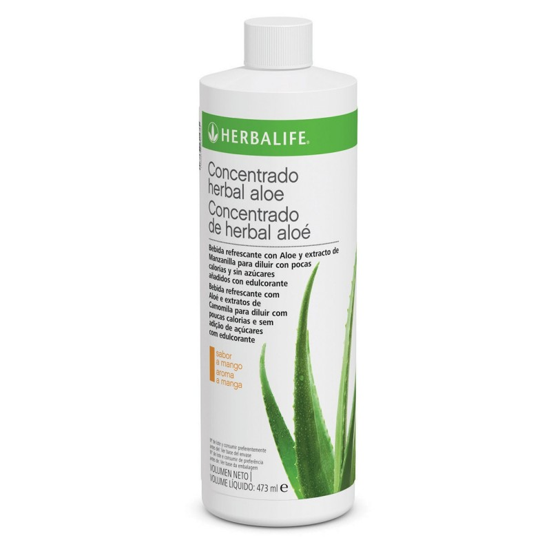 Bebida de Concentrado Herbal Aloe Sabor Mango Herbalife